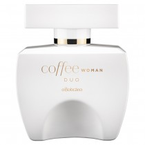 Coffee Woman Duo Desodorante Colônia, 100ml
