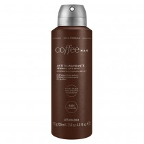 Coffee Man Desodorante Antitranspirante Aerosol, 75g/125ml