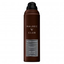Malbec Club Gel Espumante Para Barbear 150ml